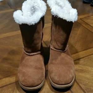 b1cb4d00f4d SO Womens Casual Boots Light Brown Size 7
